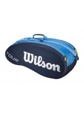Чехол Wilson Tour Molded 6PK Bag JCE BL