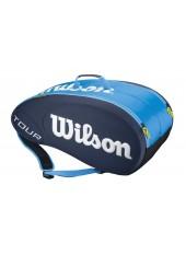 Чехол Wilson Tour Molded 9PK Bag JCE BL