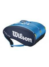 Чехол Wilson Tour Molded 15PK Bag JCE BL