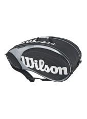 Чехол Wilson Tour 9PK Bag Black/Silver