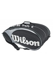 Чехол Wilson Tour 15PK Bag Black/Silver
