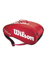Чехол Wilson Tour Molded 9PK Bag Red