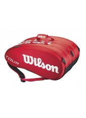 Чехол Wilson Tour Molded 15PK Bag Red
