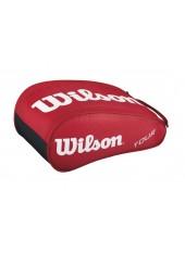 Чехол для обуви Wilson Tour Shoe Bag II Red