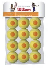 Теннисные мячи Wilson Starter Orange Tball 12 Pack