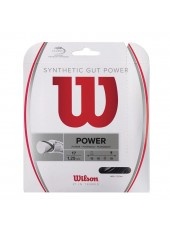 Теннисная струна Wilson Synthetic Gut Power 17 BK