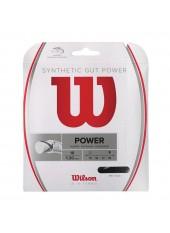 Теннисная струна Wilson Synthetic Gut Power 16 BK