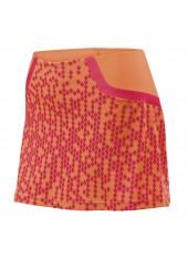 Юбка спортивная Wilson W SP Solana Pixel 12.5 Skirt Coral