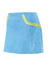 Юбка спортивная Wilson W SP Solana Pixel 12.5 Skirt OCN