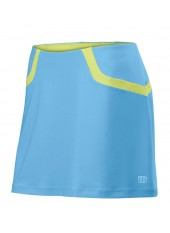 Юбка спортивная Wilson W SP Solana Clrblk 13.5 Skirt OCN/GR