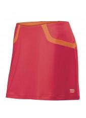 Юбка спортивная Wilson W SP Solana Clrblk 13.5 Skirt CHERRY/Cor