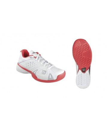Кроссовки Wilson Rush Pro HC W (White/Cherry W/White)