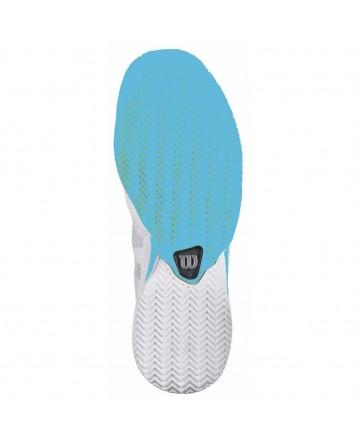 Кроссовки Wilson Rush Pro CC W (White/Pool/Oceana)