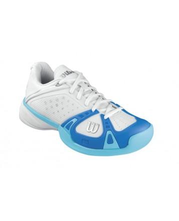 Кроссовки Wilson Rush Pro HC W (White/Pool/Oceana)