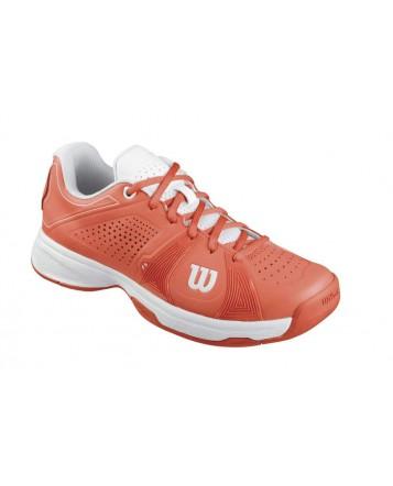 Кроссовки Wilson Rush Sport W (Coral W/Coral W/White)