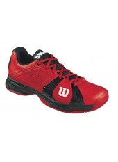 Кроссовки Wilson Rush Sport (Red/Black/Red)