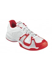 Кроссовки Wilson Rush Open (White/White/Red)