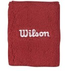 Напульсник Wilson Double Wristbands red