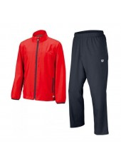 Wilson Jr Youth Team Woven Warmup/Red/Coal