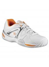 Кроссовки Wilson W Trance Impact White/orange/silver
