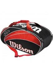 Чехол Wilson Roger Federer 9 Pack