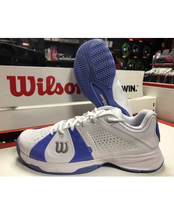 Теннисные кроссовки Wilson Rush SPORT HC Whit/Whit/Peri Blue