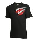 Футболка Wilson Jr T-Shirt Grand Slam Black