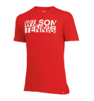 Футболка Wilson Jr T-Shirt Red