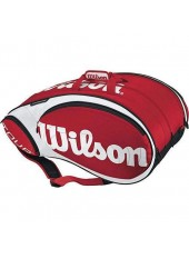 Wilson Tour 15 Pack  Red/White