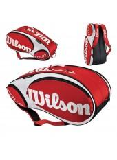Чехол Wilson Tour 9 Pack Red/White