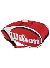 Чехол Wilson Tour 12 Pack Red/White