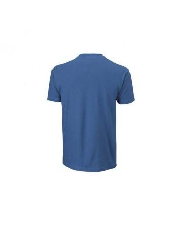 Футболка Wilson M Shoulder W Cotton Tee/Deep Water/Blithe