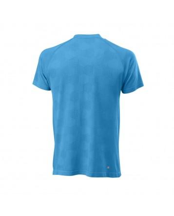 Футболка M Power Seamless Henley/Coastal Blue