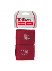 Напульсник W  Wristband Wilson Red