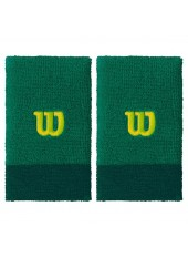Напульсник Wilson Extra Wide Wristbands Deep Grnag