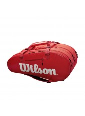 Чехол Wilson Super Tour 3 Comp  Red