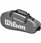 Чехол Wilson Super Tour 2 Comp Small Bk/Gy