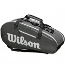 Чехол Wilson Super Tour 2 Comp Large Bk/Gy
