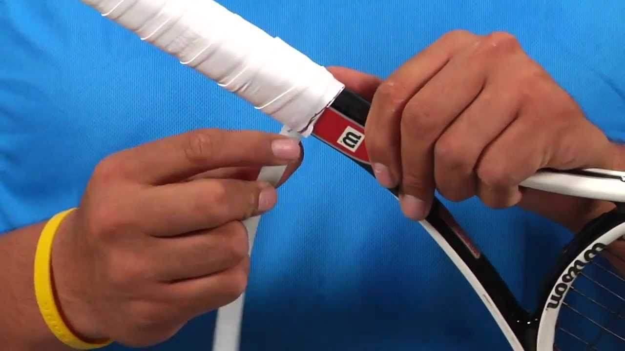 Замена гриппа на теннисной ракетке